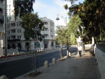 רחוב אגרון - ירושלים